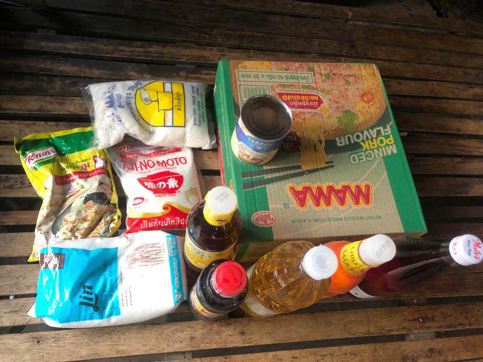 voedselhulp COVID Cambodja HIV